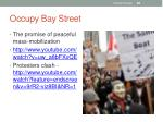 occupy bay street