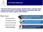 the talent imperative