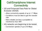 cell smartphone internet connectivity1