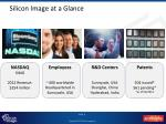 silicon image at a glance