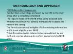 methodology and approach1