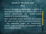 product life cycle and iplc