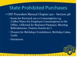 state prohibited purchases