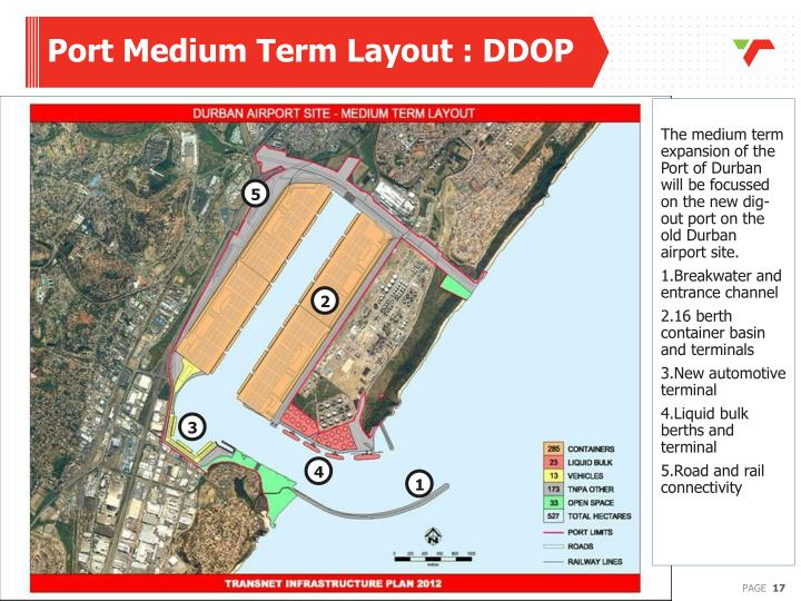Port Medium Term Layout : DDOP