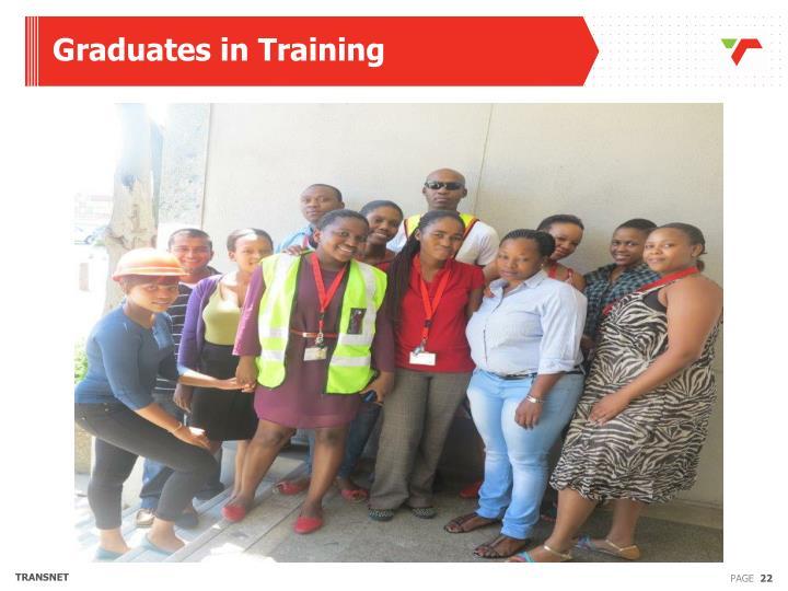 Graduates in Training