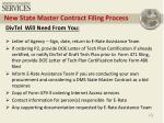 new state master contract filing process6