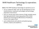 nihr healthcare technology co operatives htcs1