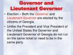 governor and lieutenant governor1