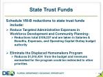 state trust funds