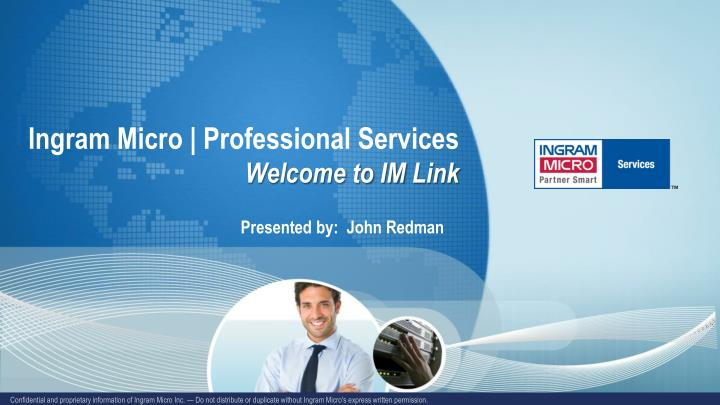 ingram micro professional services welcome to im link n.