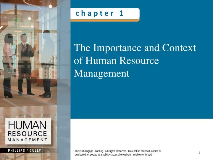 the importance of human resources