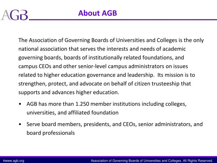 About AGB