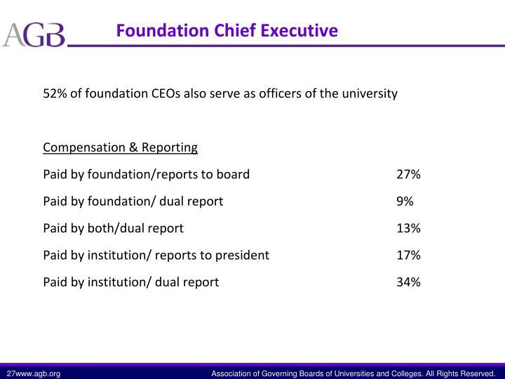 Foundation Chief Executive
