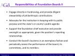 responsibilities of foundation boards ii