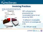 invoicing practices