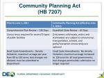 community planning act hb 7207