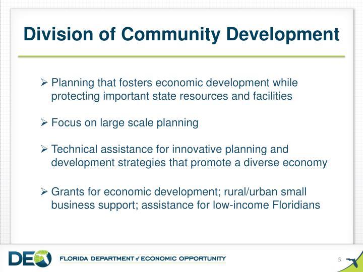 Division of Community