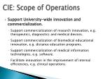 cie scope of operations1