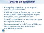 towards an action plan