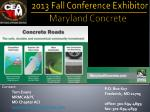 tom evans mrmca pc md chapter aci tom@marylandconcrete com