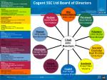 cogent ssc ltd board of directors