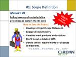 1 scope definition