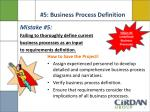5 business process definition