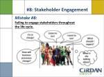 8 stakeholder engagement