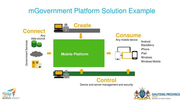 mGovernment Platform Solution