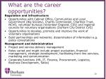 what are the career opportunities5