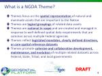 what is a ngda theme