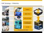 sap strategy 5 markets