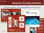 response branding samples