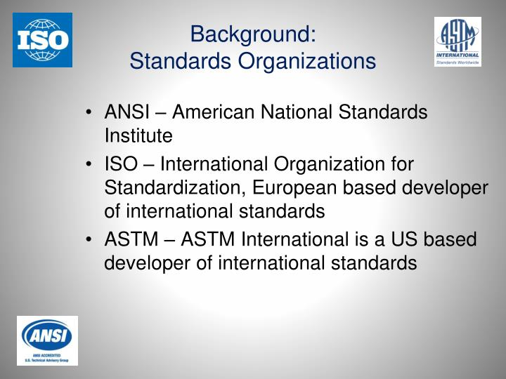 3 evaluate the three 3 standard organizations including ieee iso and ansi to determine the most impo Justify the need of the ieee 802 standard used in networking evaluate the three (3) standard organizations including ieee, iso, and ansi to determine the.