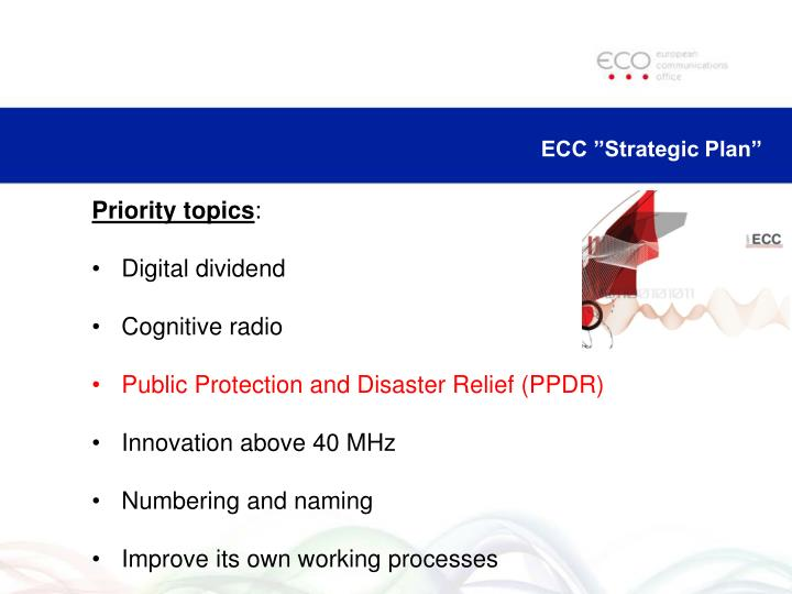 "ECC ""Strategic Plan"""