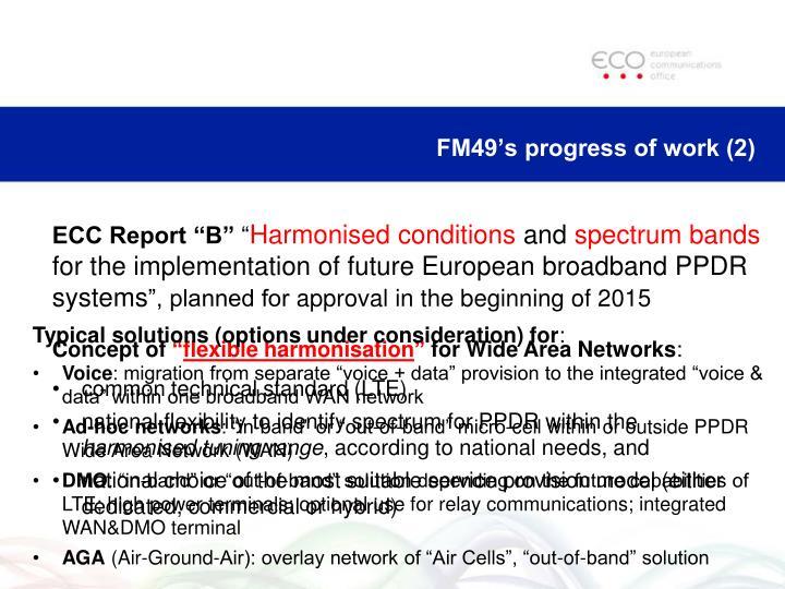 FM49's progress of work (2)