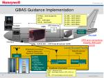 gbas guidance implementation