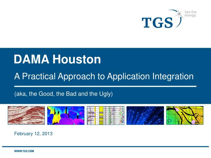 a practical approach to application integration n.