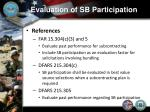 evaluation of sb participation1