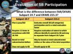 evaluation of sb participation3