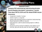 subcontracting plans3