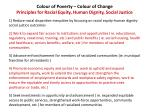 colour of poverty colour of change principles for racial equity human dignity social justice
