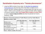 racialization of poverty not a toronto phenomenon