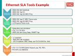 ethernet sla tools example