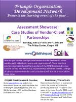 triangle organization development network presents the learning event of the year