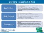 defining hepatitis c hcv