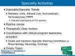 specialty activities