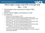 what might a large scale etr in europe look like 1