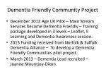 dementia friendly community project