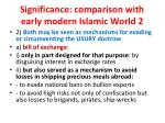 significance comparison with early modern islamic world 2